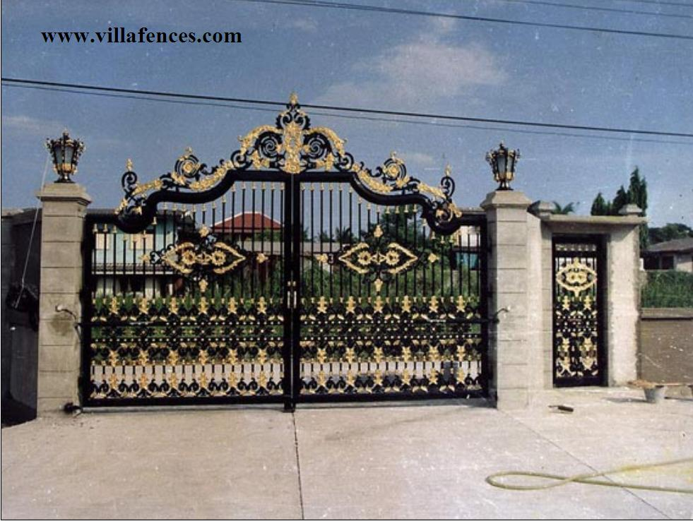 how to build gate pillars