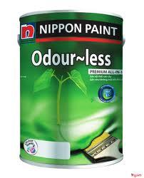 Sơn NIPPON Odourless chùi rửa vượt trội – sản phẩm giá rẻ tại Sieuthison