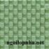 Gạch Mosaic thủy tinh trang trí cửa hàng