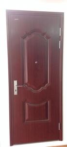 cửa thép an toàn vân gỗ chống cháy GALAXY