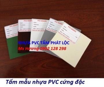 Tấm nhựa PVC, PP cứng đặc chống ăn mòn hóa chất