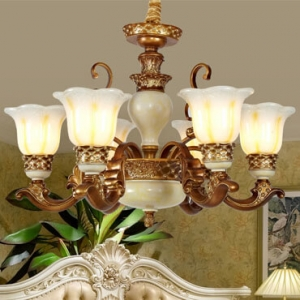 Đèn chùm tân cổ điển trang trí phong cách Châu Âu