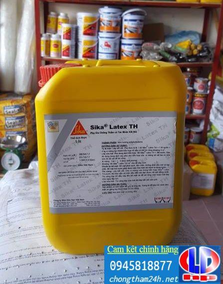 Sika® Latex TH - Phụ gia bê tông