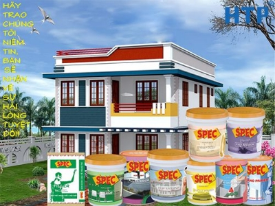 Đại chỉ bán sơn Spec chính hãng trực tiếp từ Nhà máy, giá sơn Spec chiết ...
