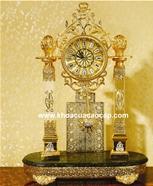 Đồng hồ cổTây Ban Nha mạ vàng sang trọng