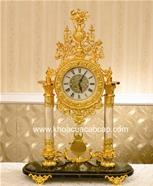 Đồng hồ cổTây Ban Nha mạ vàng 24K...