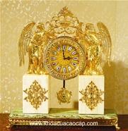 Đồng hồ cổ mạ vàng CL48