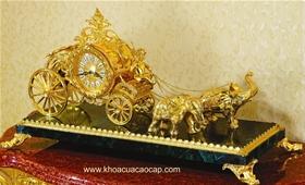 Đồng hồ cổ mạ vàng CL31