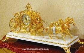 Đồng hồ cổ mạ vàng CL30