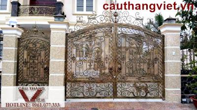 Cổng sắt mỹ thuật - cổng sắt nghệ thuật