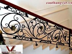 Cầu thang sắt mỹ thuật - cầu thang sắt nghệ thuật