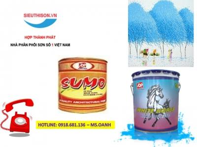 Đại lý bán sơn dầu Sumo Á Đông màu AC 130 giá rẻ tại Tân Bình