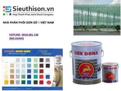 Siêu thị bán sơn dầu Donasa giá rẻ tại quận Tân Bình