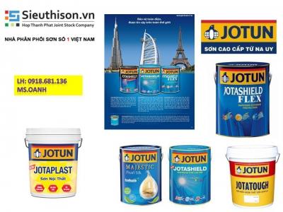 Đại lý bán sơn nước nội thất Jotun Jotaplast giá rẻ tại Quận 1