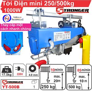 MÁY TỜI ĐIỆN MINI 250/500KG STRONGER
