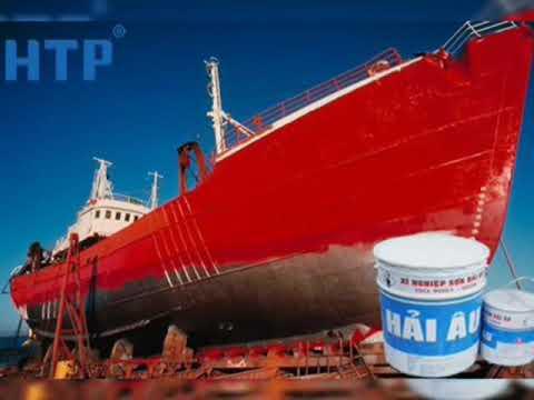 Sơn chống hà tàu biển Hải Âu 1L tại Long An