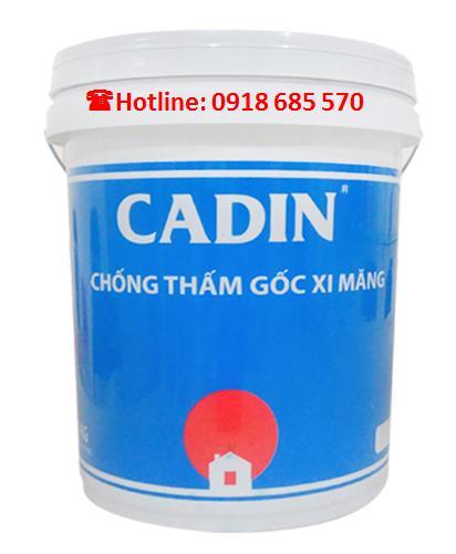 Bán sơn nước hệ dầu CADIN