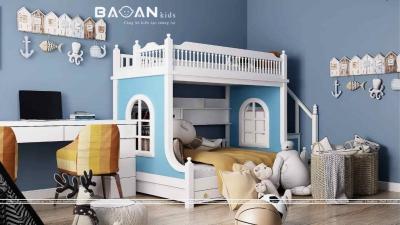 Giường tầng cho bé trai – GT35