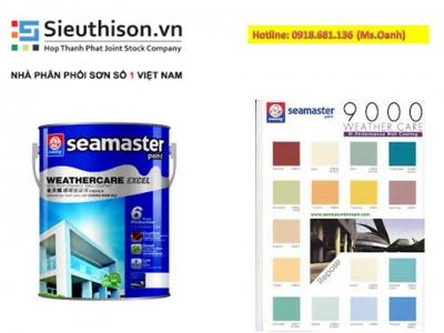 Đại lý bán sơn nước Seamaster giá rẻ uy tín nhất tại TPHCM