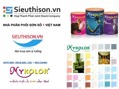 Cửa hàng bán sơn nước Mykolor giá rẻ uy tín tại TPHCM