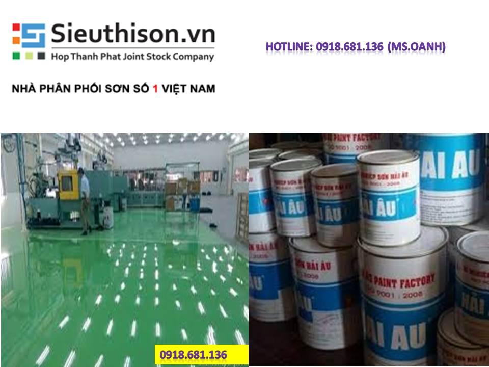 Sơn polyurethane Hải Âu giá rẻ tại TPHCM