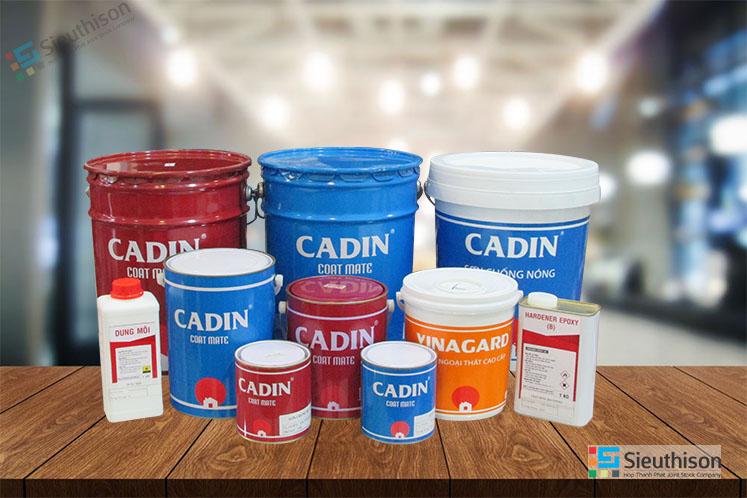 Đại lý bán sơn dầu gốc nước CADIN tại TPHCM