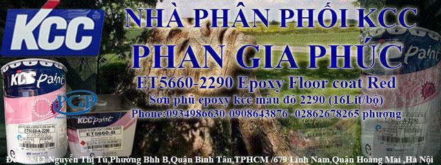 Bán Sơn Epoxy KCC ET5660-D80680 Giá Rẻ Tại Gia Lai