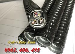 Chuyên phân phối ống ruột gà lõi thép có bọc nhựa/ ống sun sắt nhập khẩu