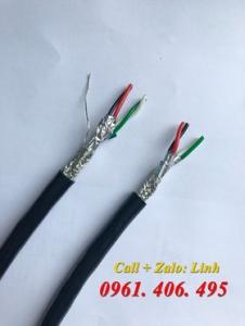 Cáp tín hiệu chống nhiễu 3 lớp RS485 (18AWG/ 22AWG/ 24AWG)