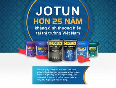 Sơn Jotun Chiết Khấu 30%-40% Cho Đại Lý, Khách Lẻ