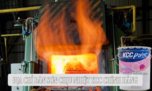 Mua sơn chịu nhiệt KCC 600oC giá tốt tại Thiên Hồng Ân