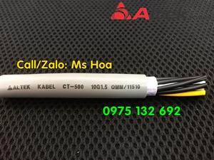 Cáp tín hiệu/Cáp điều khiển 10x0.5, 10x0.75, 10x1.0, 10x1. ...