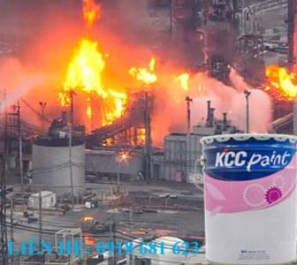 Sơn Chống Cháy Kcc Firemask Sq-250V - Nhập Khẩu 100% Từ Hàn Quốc